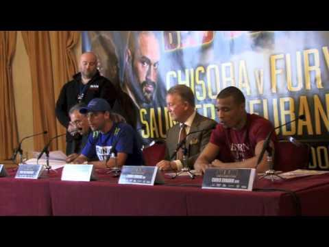 Full Billy Joe Saunders v Chris Eubank Jr Bad Blood Press Conference
