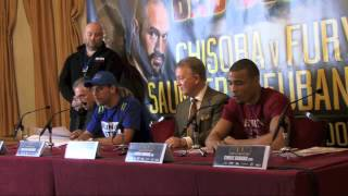 Full Billy Joe Saunders v Chris Eubank Jr Bad Blood Press Conference