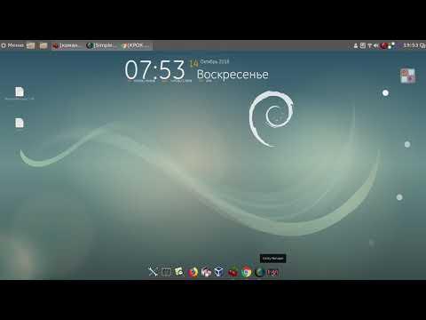 Debian 9.5 Cinnamon 64bit RUS установка программ