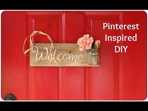 Pinterest Inspired DIY