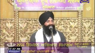 27.02.2013 Morning Gurmat Veechar Gurdwara Dukh Niwaran Sahib (GDNS), Ludhiana