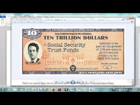 Prt 1 What Is A SSN SECURITY TRUST FUND, The Numbers On The Back of The Social Security, and Similar