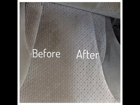 Does Oxiclean really work?! Oxiclean upholstery cleaning