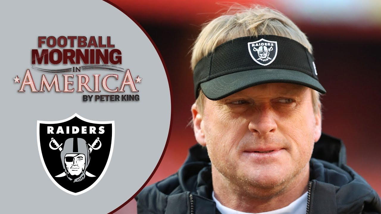 3c2f3600 NFL Training Camp 2019: Peter King's takeaways from Oakland Raiders camp |  NBC Sports