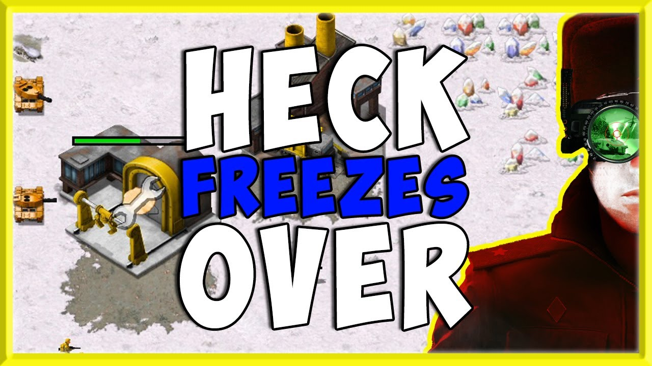 Command & Conquer: Remastered Collection Heck Freezes Over Custom Map Mod!
