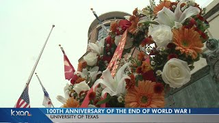 UT honors 100th anniversary of WWI