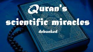 Scientific miracles in the Quran - الإعجاز العلمي في القرآن