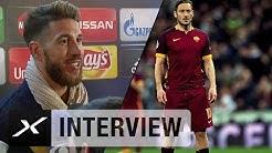 "Sergio Ramos: ""Habe Francesco Totti schon als Kind gemocht""   Real Madrid - AS Rom 2:0"