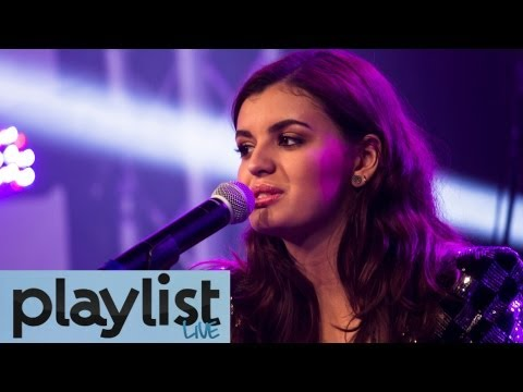 Rebecca Black & Dave Days Live - Cover Stay by Rihanna - Playlist Live 2013