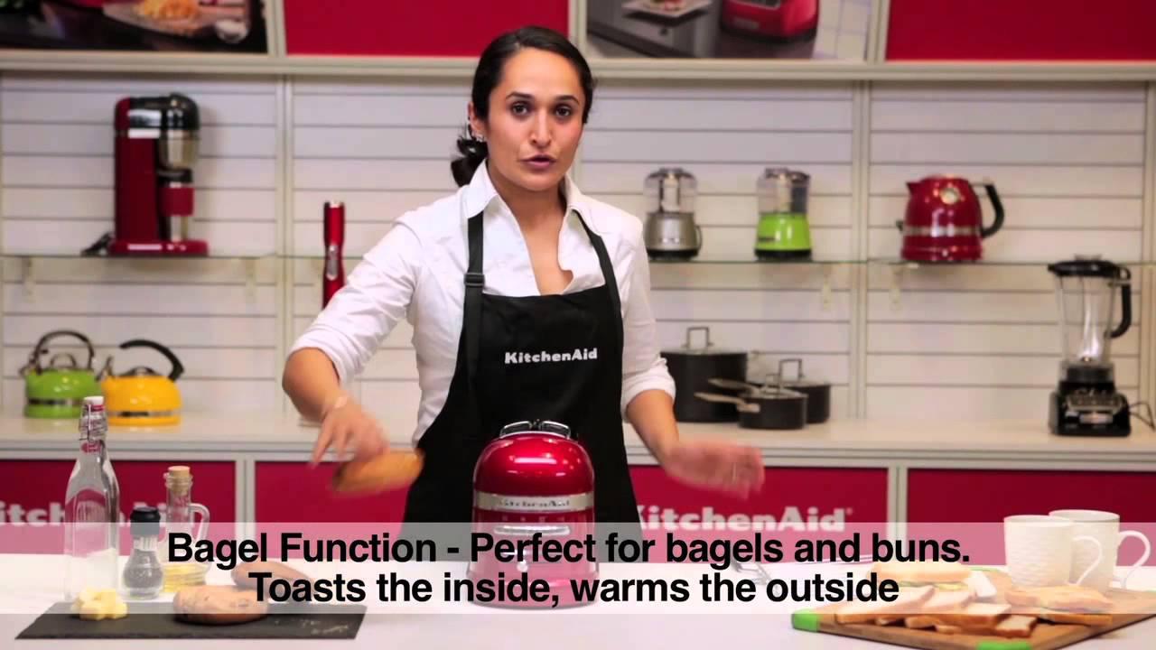 Kitchenaid Countertop Oven Youtube : KitchenAid? Pro Line? Series 2-Slice Automatic Toaster - YouTube