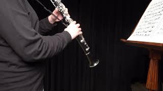 Sutermeister - Capriccio for Solo Clarinet 13