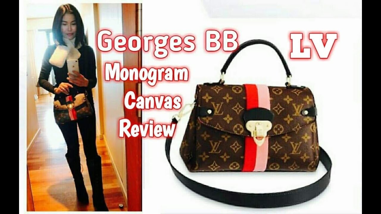 dadf647053 ➡️ GEORGES BB Monogram canvas Louis Vuitton |Review & What fits inside?  รีวิวกระเป๋าหลุยส์