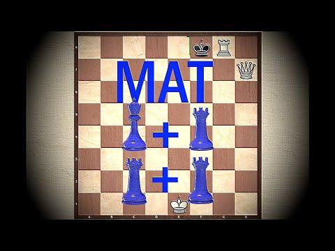 Шахматы. Урок 11. Мат тяжелыми фигурами. Мат ферзем и ладьей. Мат двумя ладьями
