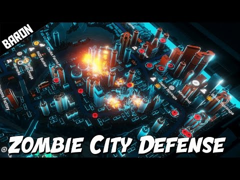 The APOCALYPSE of ZOMBIES - Zombie City Defense 2 Part 1