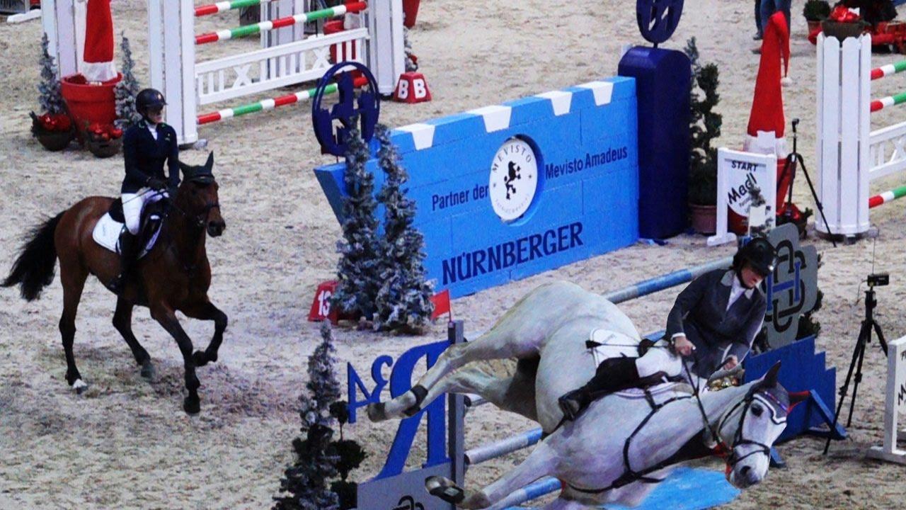 Mevisto Amadeus Horse Indoors 2016 Zeitlupen Impressionen Youtube