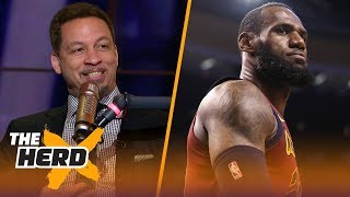 Chris Broussard on LeBron winning on Lakers next year, Paul George staying on OKC | NBA | THE HERD