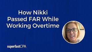 superfastcpa review passing far while working 80 hours a week