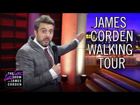 Walking Tour of James Corden's Studio