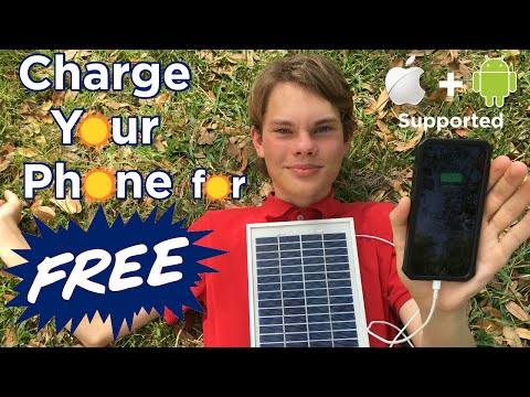 Ben Builds: Charge your Phone for FREE | DIY Solar Panel Pho