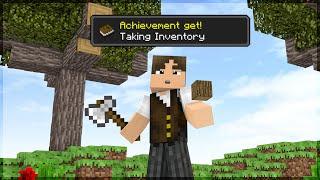 Minecraft: CONSIGA TODAS AS CONQUISTAS EM 20 MINUTOS!