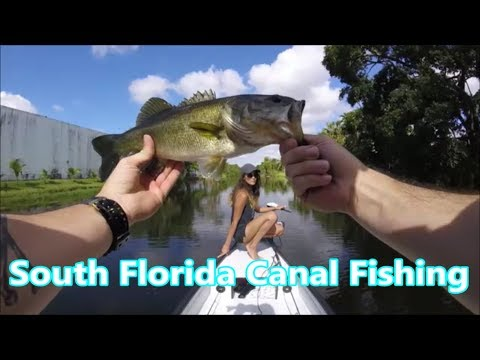Exploring & Fishing! C14 (Florida Canal 14) Beautiful Day! On A Gheenoe LT10