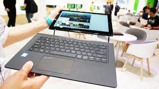Это ноутбук Acer с водяным охлаждением