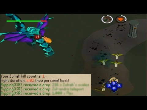 [OSRS] Loot From My First Ever Zulrah Kill!  - Road to 1Bil from Nothing - EP 22