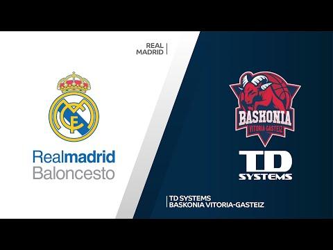 Real Madrid-TD System Baskonia Vitoria-Gasteiz Highlights | Turkish Airlines EuroLeague RS Round 24