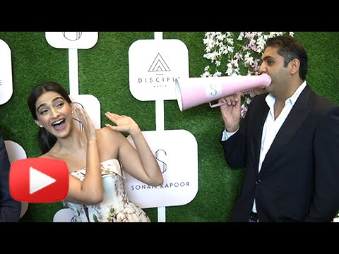 Sonam Kapoor Launches Her App | Becomes First Indian Celeb