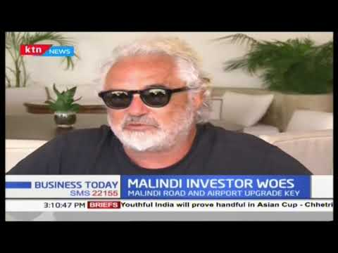 Malindi investor woes : Italian Billionaire says Malindi deserves direct flight to Italy
