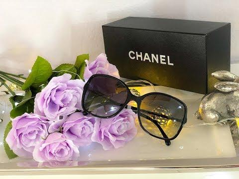 Unboxing - Chanel Square Sunglasses -  Classics black Standard