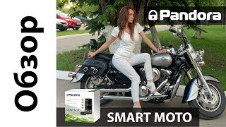 Pandora Smart Moto - Мотосигнализация GSM c Bluetooth 2019 Kawasaki Vulcan | Обзор | Установка