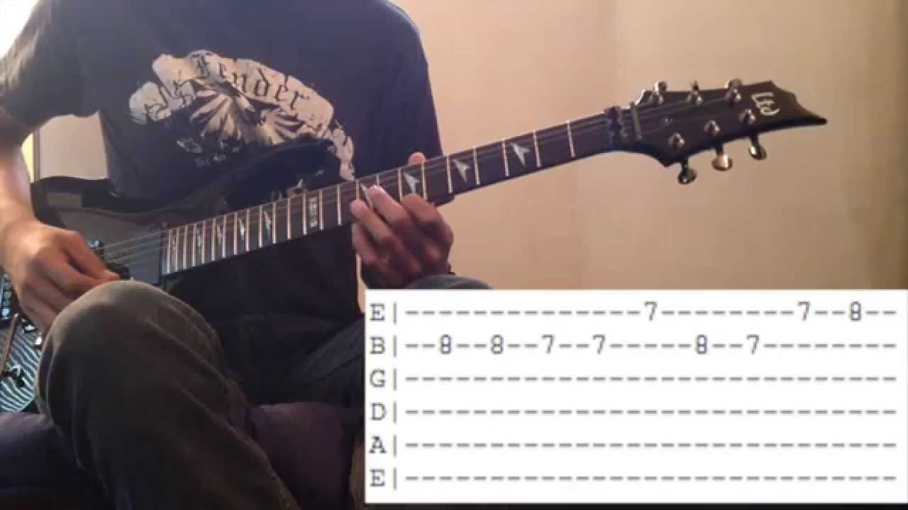 How To Play Lavender Town On Guitar With Tabs Youtube