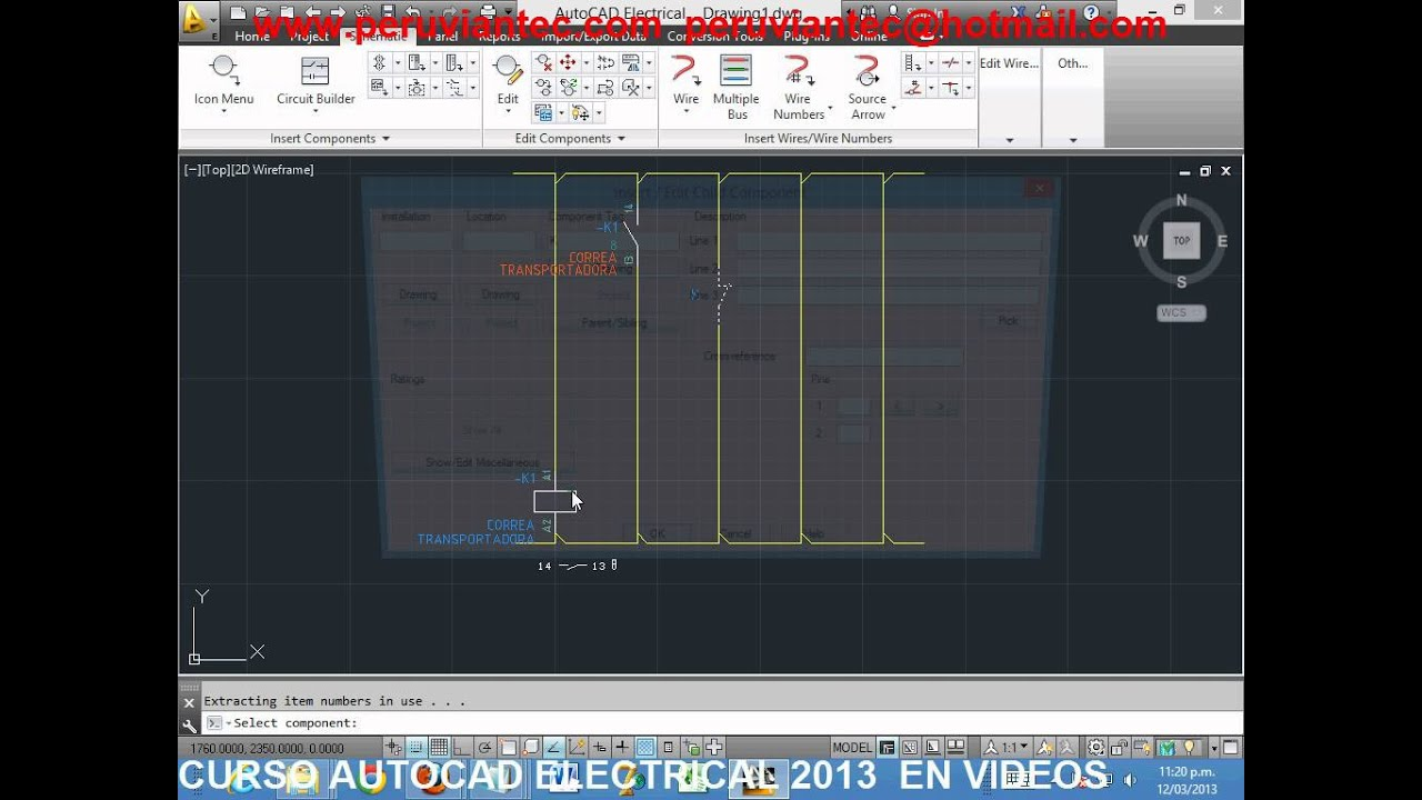 Tutorial Autocad Electrical 2013 Espaol Curso Schematic
