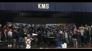 JOKMS 7th Grade Choir Performance