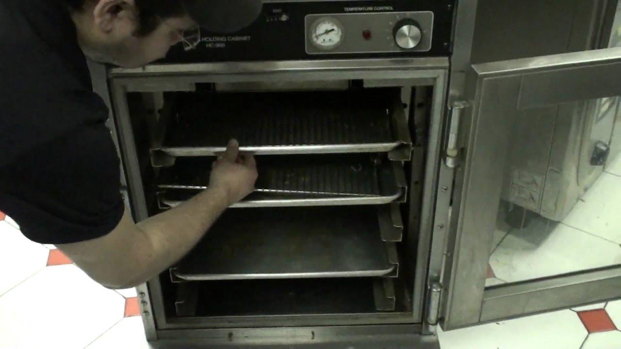 Henny Penny Heated Holding Cabinet - YouTube