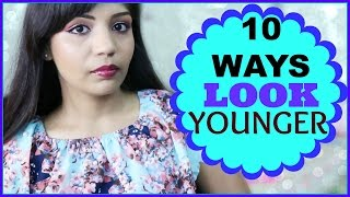 How To Look Younger | 10 Ways Beauty Tips  | SuperPrincessjo