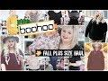 BooHoo Plus Size Fall Haul   Affordable Clothing 2018