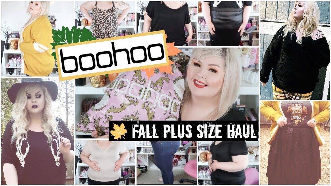 a5a07582ad0 BooHoo Plus Size Fall Haul