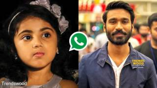 Theri Baby Nainaika and Dhanush Leaked Phone Talk | Shocking Phone Talk