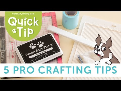 [5 Pro Crafting Tips] To Improve Your Cardmaking!