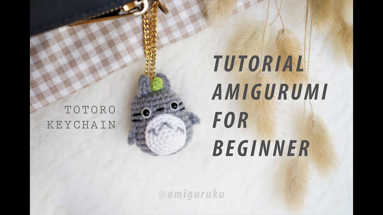 Happy Jellyfish Amigurumi Keychain Free Crochet Pattern | 720x1280