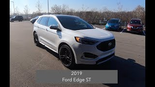 2019 Ford Edge ST|Walk Around Video|In Depth Review|Test Drive