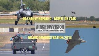 RAFALE C DEMO 2013 - RIAT (airshowvision)