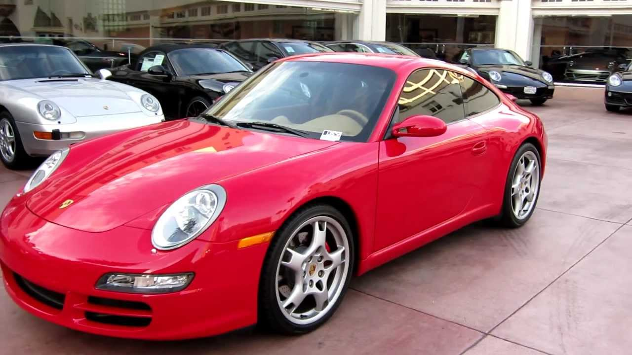 2006 Porsche 911 Carrera S Guards Red 6 Speed For Sale In