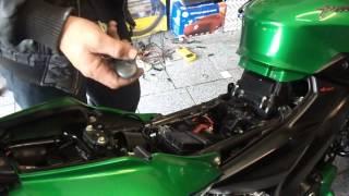Funcionamiento de alarma Olimpus MotoX