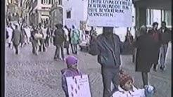 Gegen Rüstungsexport  aus deutschland  schwäbisch Hall 1988