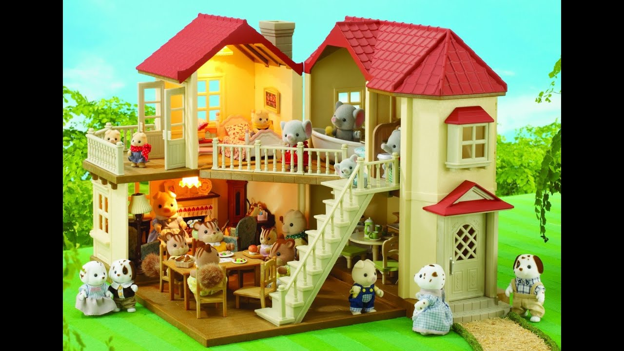 Sylvanian Families House - YouTube
