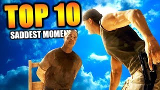 """Top 10 """"SADDEST CAMPAIGN MISSIONS"""" in COD HISTORY 