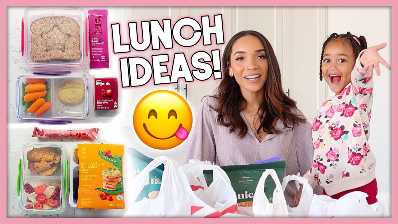 [VIDEO] - Quick & Easy School Lunch Ideas | Mom Vlog + Grocery Haul 2